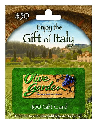 Olive Garden Email Gift Card - 50 olive garden gift card giftcardshunters com