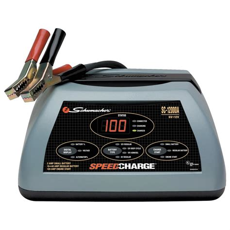 schumacher 174 speedcharge battery charger 15 to 40