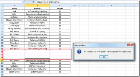 excel 2010 shared workbook tutorial how to make a shared spreadsheet in excel 2010 microsoft