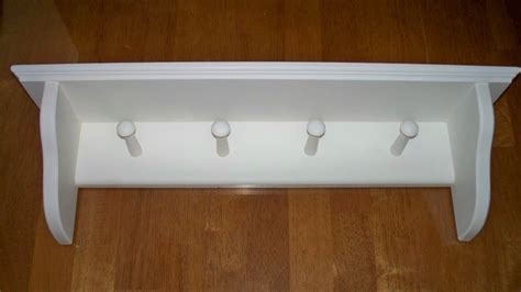 Wall Coat Rack Shelf by Wall Mounted Coat Rack With Shelf Home Decorations