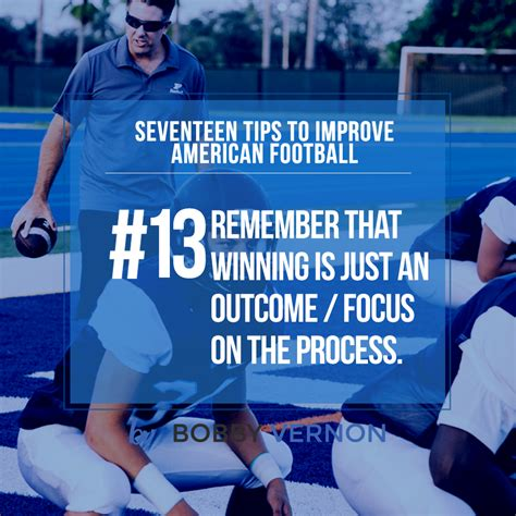 seventeen tips to improve american football tip 13