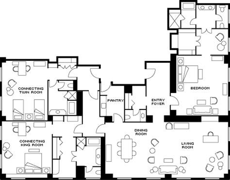 presidential suite floor plan georgetown presidential suite luxury hotel suites four