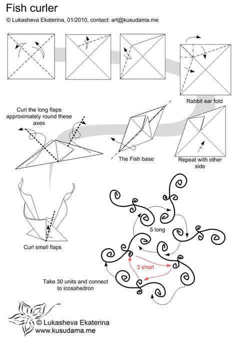 how to make an origami koi fish step by step 17 best images about kusudama on flower