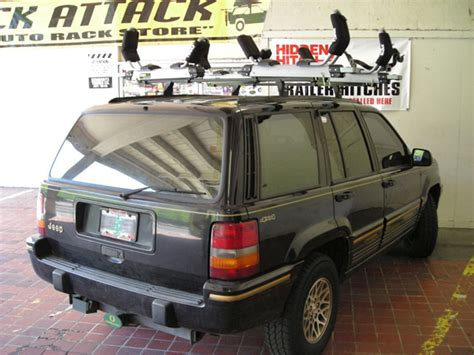 jeep cherokee kayak rack 2004 jeep grand cherokee roof rack installation life