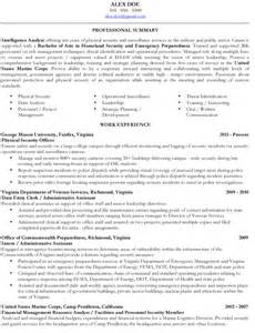 to civilian resume sle sle resume and free