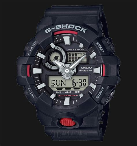 Jam Tangan Gshock 700 casio g shock ga 700 1adr water resistant 200m resin band
