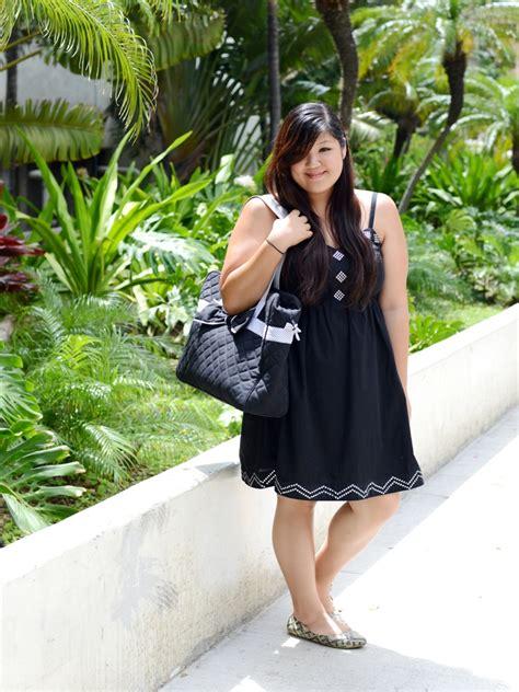 Simple Dress Rajut Bkk keep it simple curvy chic