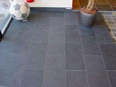 bath floor tile gray rectangles house ideas