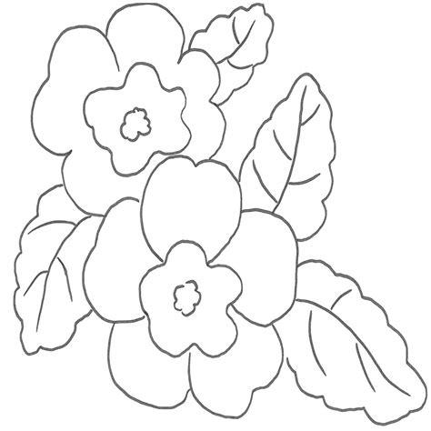 disegni da colorare fiori di primavera disegni di fiori per bambini