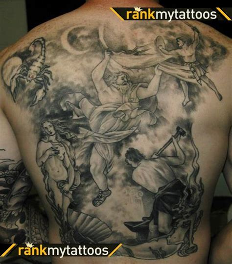 greek god tattoo my designs ancient tattoos