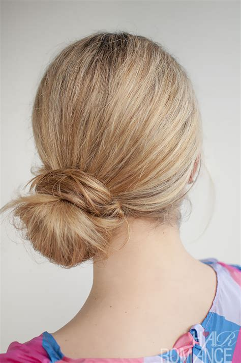 love knot hairstyle 30 buns in 30 days day 24 the side knot bun hair romance