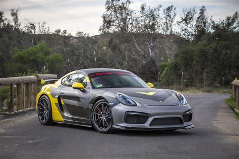Porsche V by Exhilarating Porsche Cayman Gt4 V Program