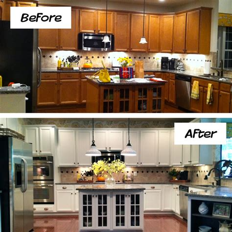 How To Refinish Kitchen Cabinets Yourself Refurbishing Kitchen Cabinets Yourself