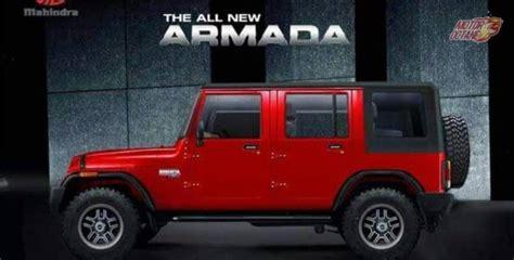 mahindra armada new mahindra armada 2017 price launch date features
