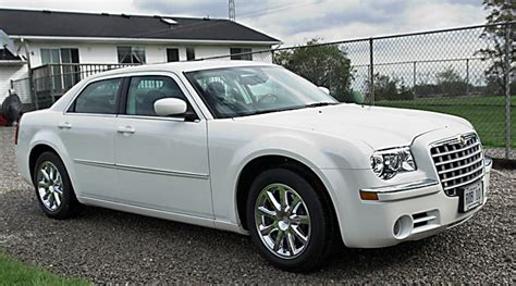 chrysler car white 2008 ltd white grey interior chrysler 300c