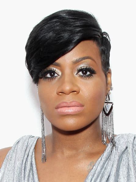 fantasia short hairstyles pictures fantasia barrino short hair with side fringe google