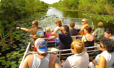 boat ride miami groupon everglades airboat tour everglades safari park groupon