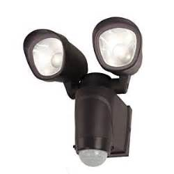 battery operated sensor lights outdoor utilitech 140 degree wireless 2 led motion sensor