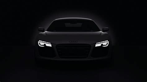 audi headlights in dark dark cars audi r8 headlights 2013 wallpaper allwallpaper