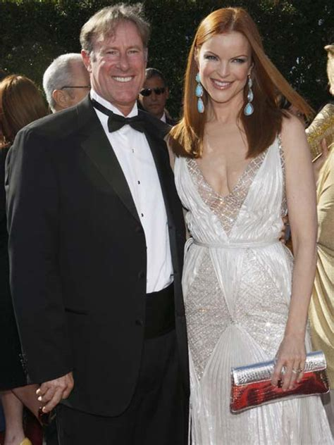 59th Emmy Awards Carpet The Desperate by Marcia Cross Of The Series Desperate And