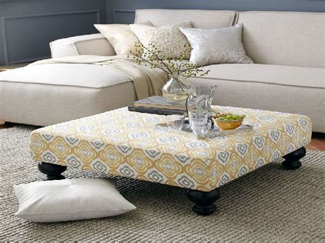 upholstered ottoman coffee table trendy upholstered ottoman coffee table coffee tables guide
