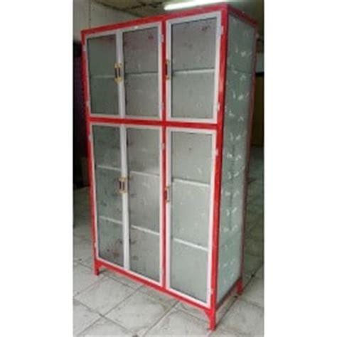Rak Piring Jumbo rak piring aluminium box 3 pintu