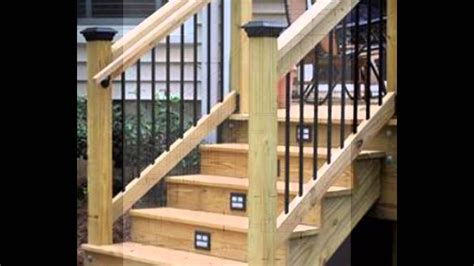 Build Stair Railing Building Code Deck Stair Railing Building Code For Deck