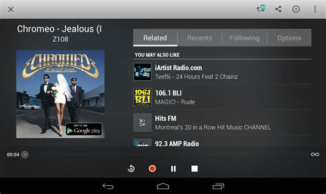 tunein radio android tunein radio pro live radio android apps on play