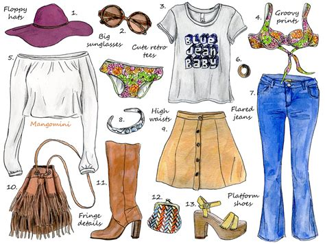 70s Sketches by Here S How To Rock That 70s Look Right Now