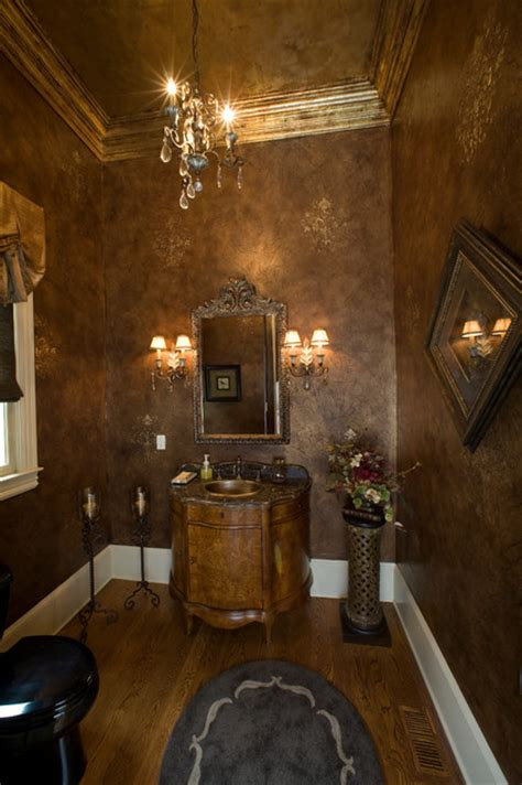 chosing powder room finishes decorative painting fine faux finishing mediterranean