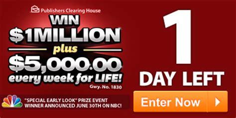 How Do You Win Pch - enter june 30th mega prize event autos post