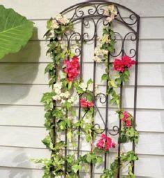 Small Decorative Trellis Set Of 2 Small Decorative Garden Metal Wall Trellis