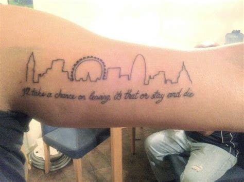 london skyline tattoo pin by hodkinson on tattoos