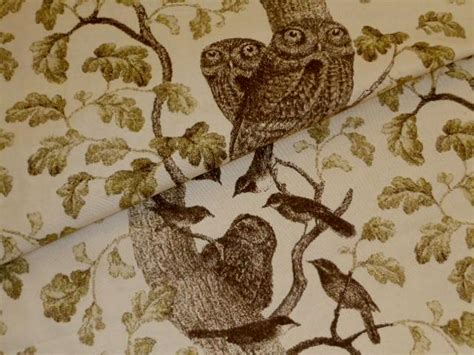 owl upholstery fabric pattern k hoot owl in color bark upholstery fabric