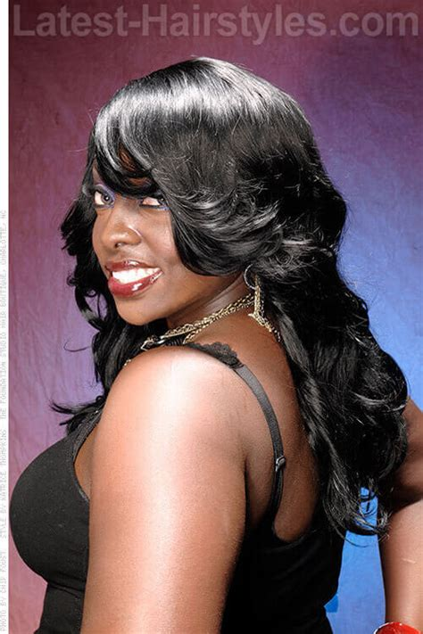 angels weaves 15 long hair extension ideas for black women