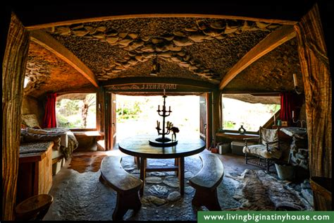 tiny house bnb magical hobbit like eco cave house living big in a tiny