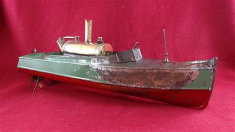 toy boat steam engine 1900 s steamboat live steam engine toy boat