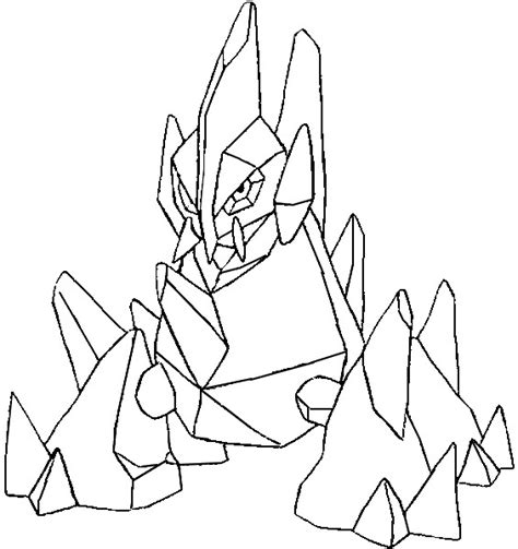 pokemon coloring pages gigalith coloring pages pokemon gigalith drawings pokemon