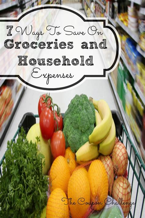 7 ways to save money 7 ways to save money on groceries household expenses