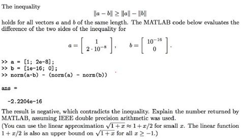 Collaborative Filtering Homework Solutions by The Inequality Lla B12 Llall 1에 Holds For All Vec