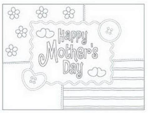 mothers day card templates to color free easy printable mothers day cards ideas for family