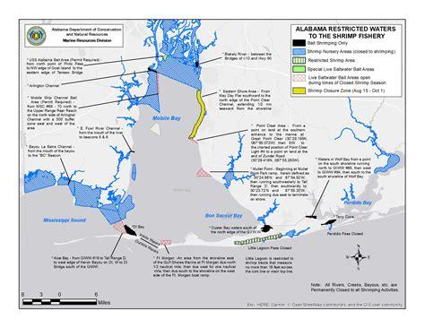 state of alabama boating license test commercial shrimping regulations outdoor alabama