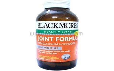 Blackmores Joint Formula Glucosamine Chondroitin Isi 120 T T0310 vi 234 n uống xương khớp blackmores glucosamine sulfate 1500mg