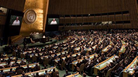 la asamblea de los 8498388074 onu pa 237 ses musulmanes rechazan vicepresidencia israel 237 de la asamblea general sitio de al