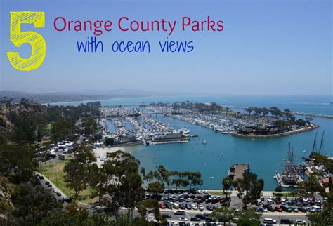 parks in orange county five orange county parks with views oc oc