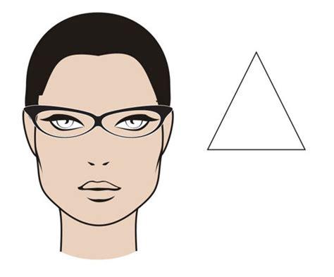 triangular face shape the mgam glasses guide myglassesandme eyewear blog