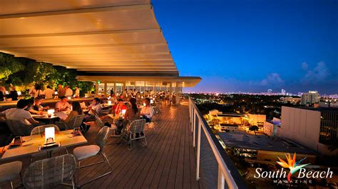 top bars in miami best rooftop bars in miami south beach magazine