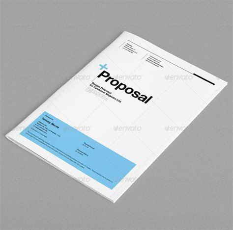 proposal layout design inspiration 10 premium invoice and proposal templates