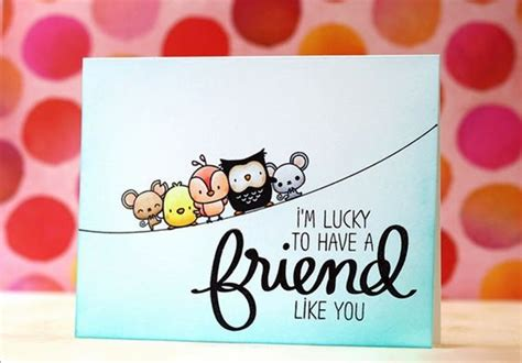 Cool Frame Designs 40 Cute Friendship Card Designs Diy Ideas