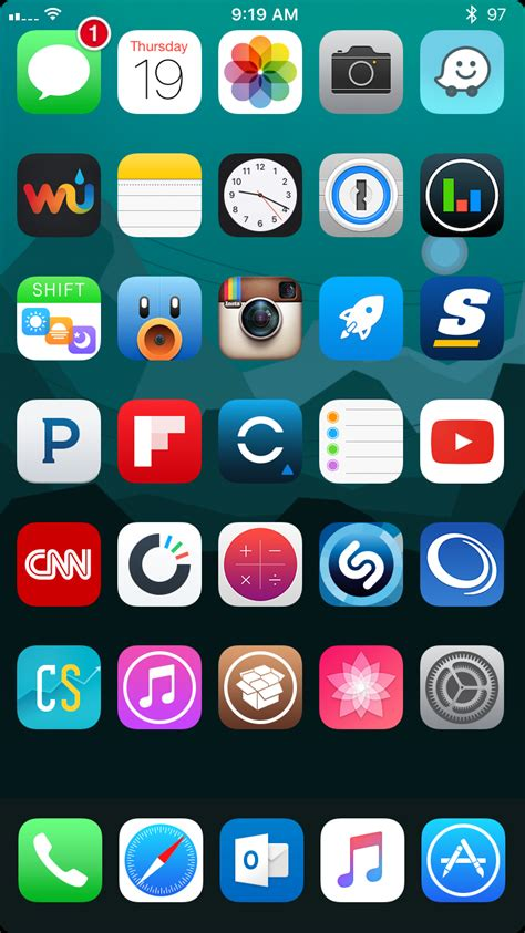 post your iphone 6s 6s plus home screen page 7 macrumors forums